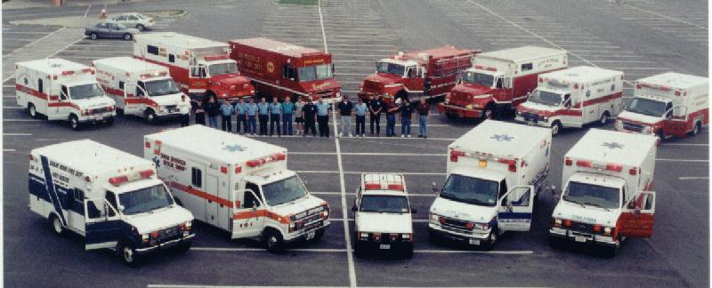 Jefferson County EMS Rigs